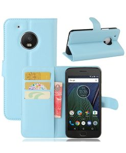 Motorola Moto G5 Wallet Leather Case