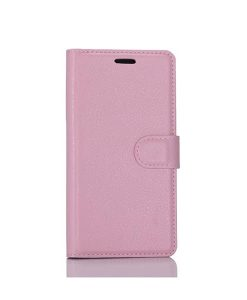 LG G6 Wallet Leather Case, Pink.