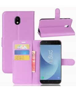 Samsung Galaxy J5 (2017) Wallet Leather Case, Lila.