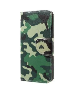 Huawei Honor 9 Pattern Printing Wallet Case, Camouflage.