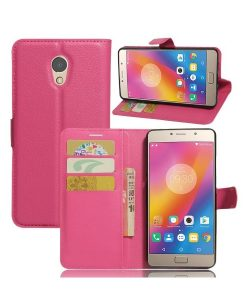 Lenovo P2 Wallet Leather Case, Rose.
