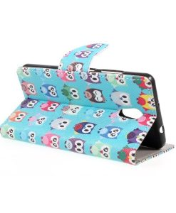 Lenovo P2 Pattern Printing Wallet Case, Owls Pattern.
