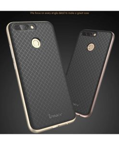 Huawei Honor 8 Pro IPAKY Hybrid Case Cover, Rose Gold.