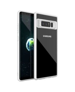 Samsung Galaxy Note 8 IPAKY TPU Frame + Clear Acrylic, Valk.