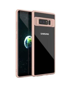 Samsung Galaxy Note 8 IPAKY TPU Frame + Clear Acrylic, RG.