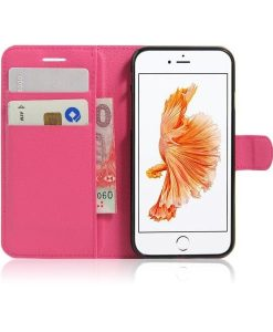 Apple iPhone 8 Book Style Suojakotelo, Rose.