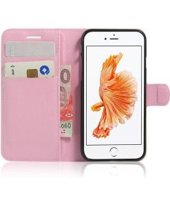 Apple iPhone 8 Book Style Suojakotelo, Pink.