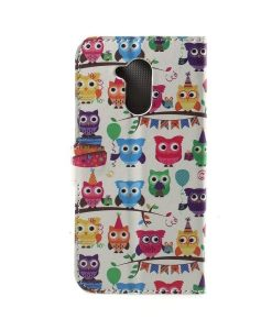 Huawei Honor 6A Printing Wallet Case, Owl 3.