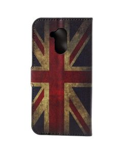Huawei Honor 6A Printing Wallet Case, UK Flag.