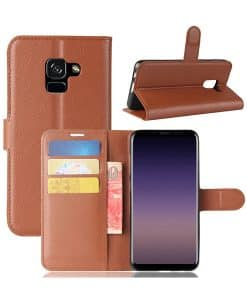 Samsung Galaxy A8 Wallet Leather Case