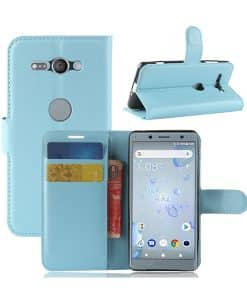 Sony Xperia XZ2 Compact Wallet Leather Case