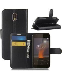 Nokia 1 Wallet Leather Case