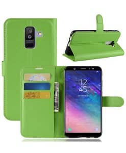 Samsung Galaxy A6 Plus Wallet Leather Case