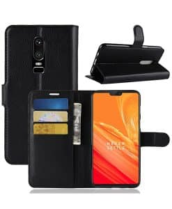 OnePlus 6 Wallet Leather Case