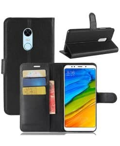 Xiaomi Redmi 5 Plus Wallet Leather Case