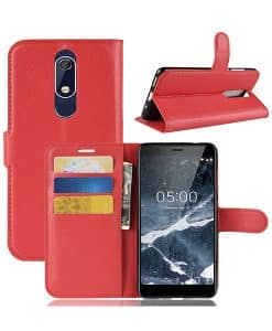 Nokia 5.1 (2018) Wallet Leather Case