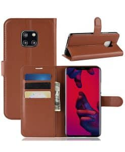 Huawei Mate 20 Pro Wallet Leather Case
